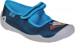Detská domáca obuv Befado 114 Y 385