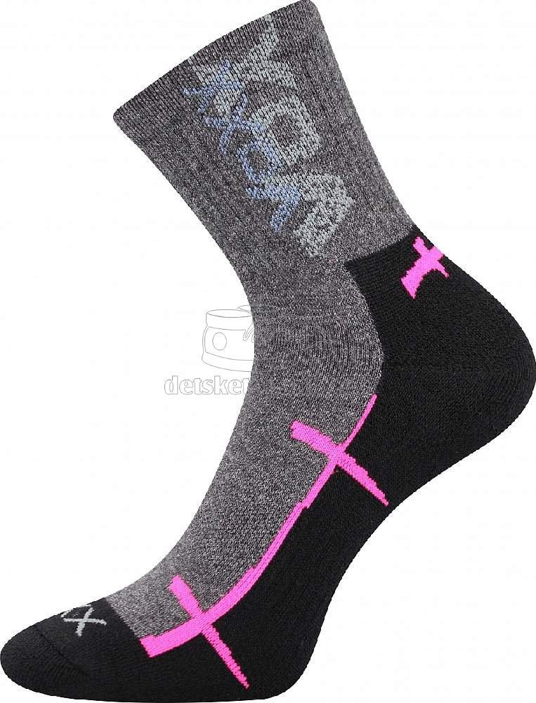 Detské ponožky VoXX Walli čierna II
