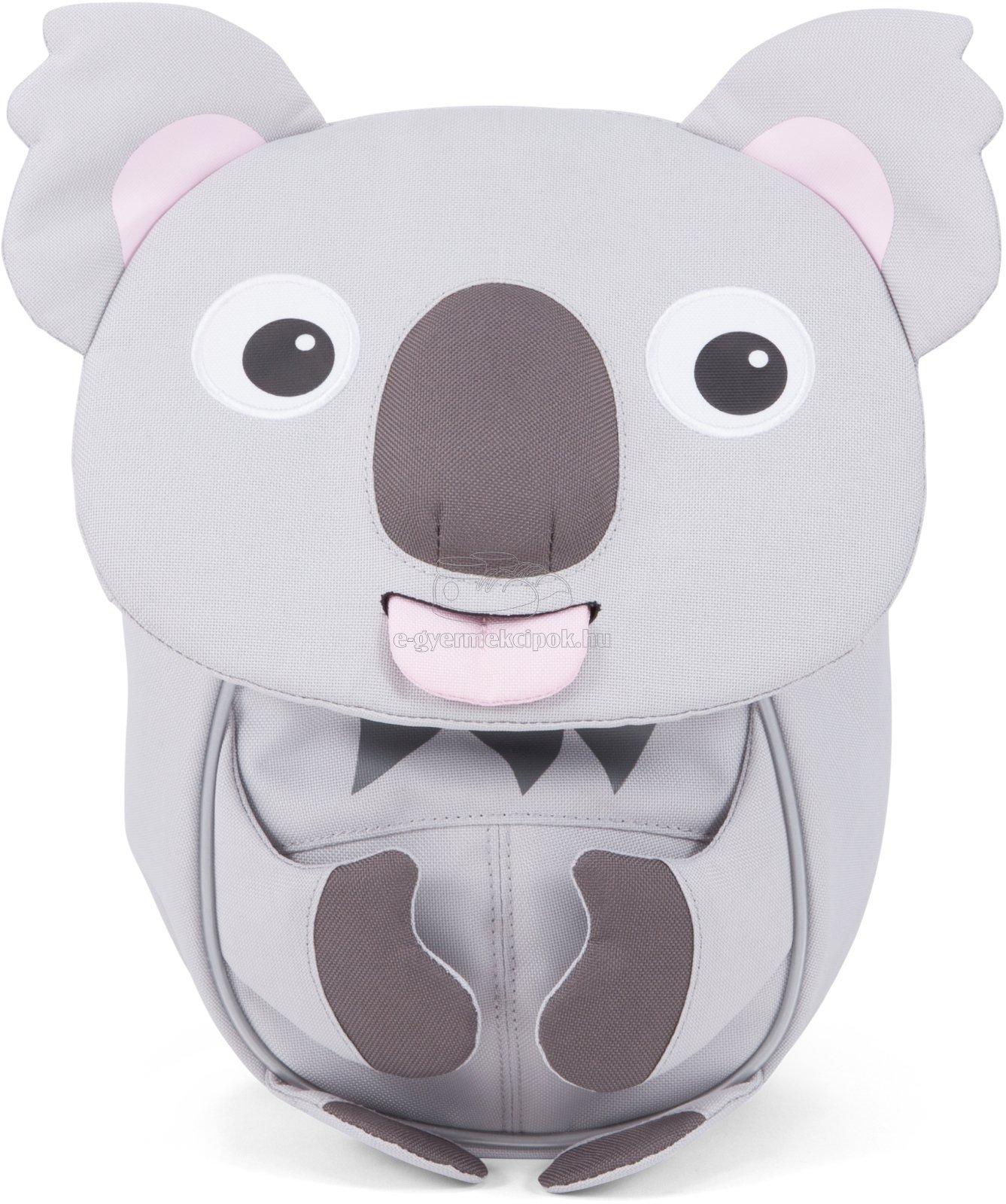 Hátizsák a legkisebbeknek Affenzahn Karla Koala small - grey