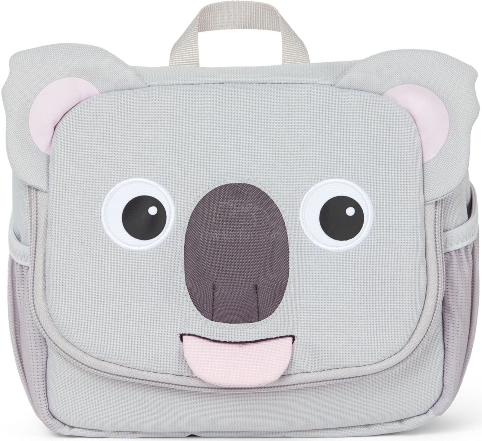 Gyerek kozmetikai táska Affenzahn Washbag - Koala Karla - grey