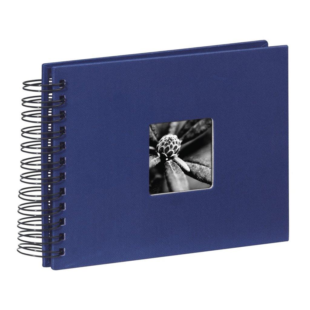 Hama album klasický špirálový FINE ART 24x17 cm, 50 strán, modrý