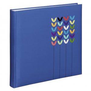 Hama album klasický BLOSSOM 30x30 cm, 80 strán, modrý