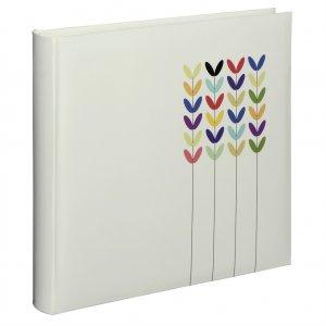 Hama album klasický BLOSSOM 30x30 cm, 80 strán, biely