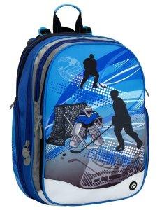 Školský batoh pro chlapcov hokej Bagmaster ELEMENT 6 B BLUE