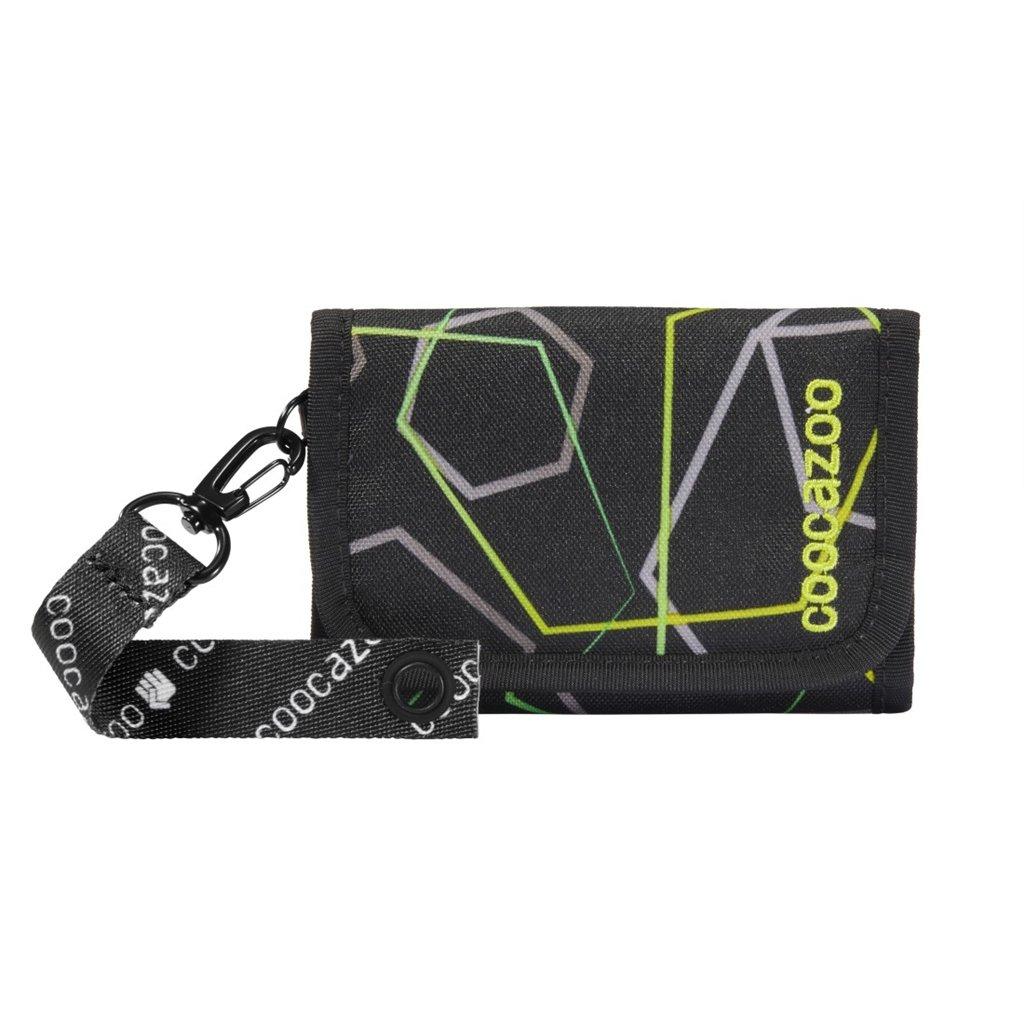 Peňaženka coocazoo AnyPenny, Laserbeam Black