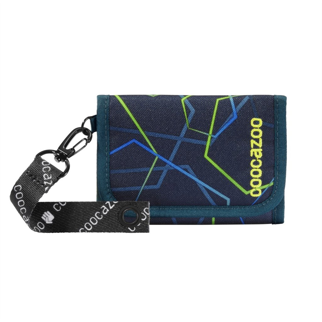 Peňaženka coocazoo AnyPenny, Laserbeam Blue