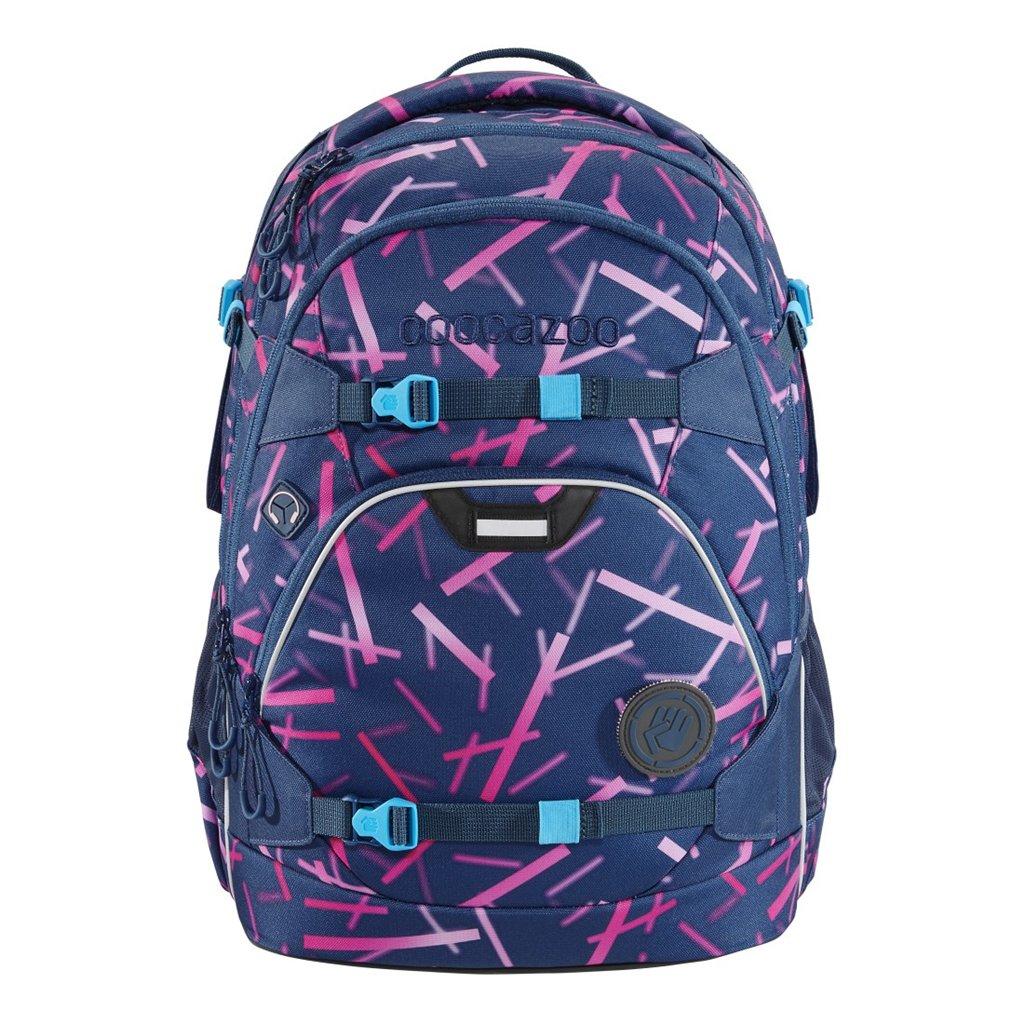 Školský ruksak coocazoo ScaleRale, Cyber Pink, certifikát AGR