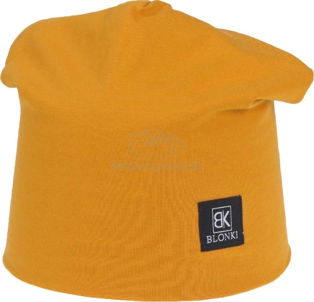 Detská jarná čiapka Blonki škoricová