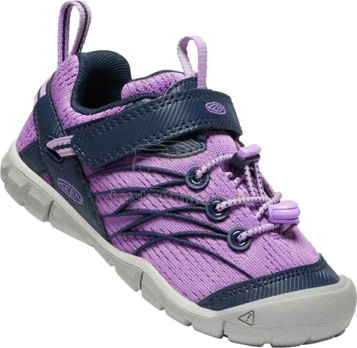 Detské celoročné topánky Keen Chandler CNX Children african violet/navy