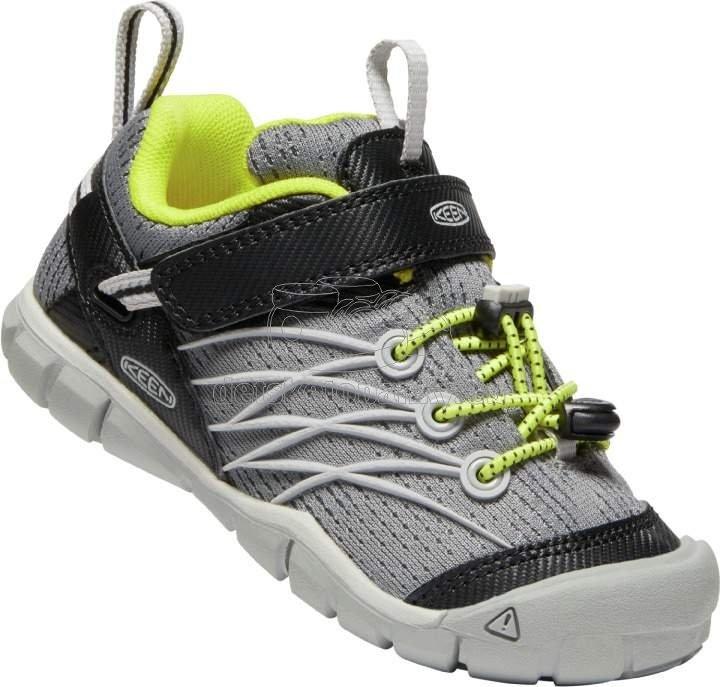 Detské celoročné topánky Keen Chandler CNX Children steel grey/evening primrose