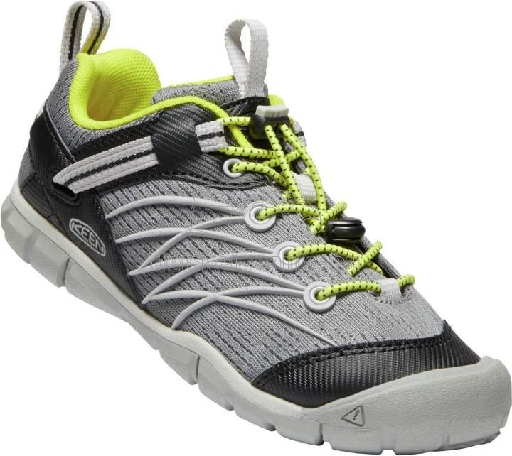 Detské celoročné topánky Keen Chandler CNX Youth steel grey/evening primrose