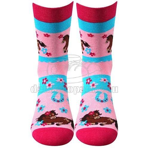 Detské ponožky VoXX Horsik ružová
