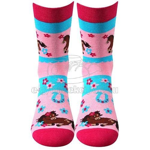Gyerek zokni VoXX Horsik rózsaszín