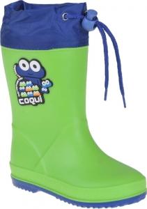 Detské gumáky Coqui 8508 Lime/Royal