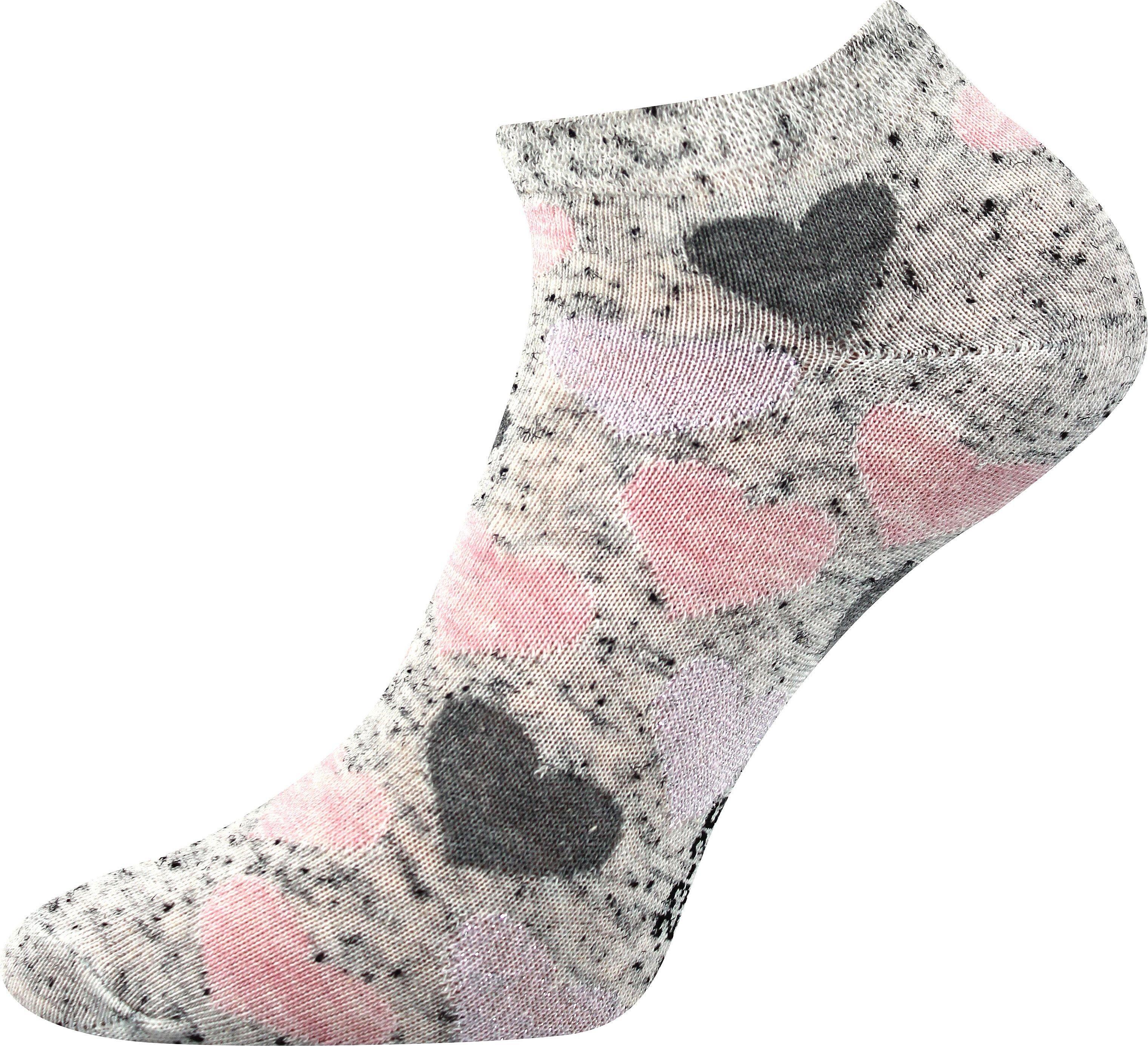 Detské ponožky Boma Piki 46 srdce
