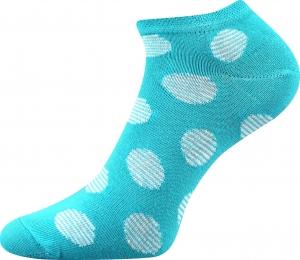 Detské ponožky Boma Duo 02 tyrkys