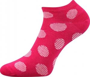 Detské ponožky Boma Duo 02 magenta