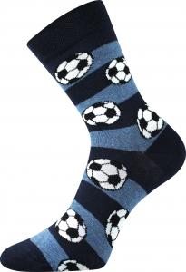 Boma Arnold Futbalové lopty - modrá s pruhmi