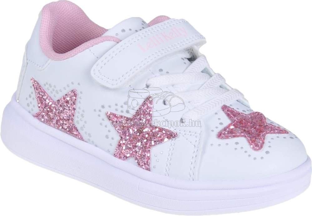 Egész évben hordható gyerekcipő Lelli Kelly LK7828 AA52 glmmer white/pink