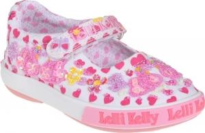 Detské celoročné topánky Lelli Kelly LK1052 BA02 swan dolly white fantasy