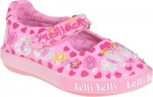 Detské celoročné topánky Lelli Kelly LK1052 BC02 swan dolly pink fantasy
