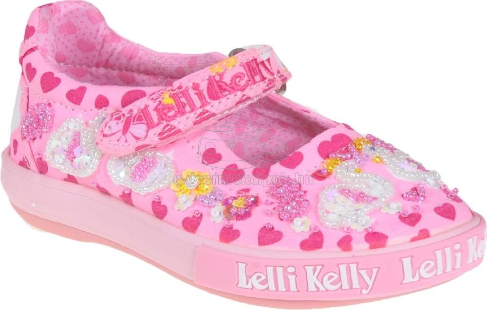Egész évben hordható gyerekcipő Lelli Kelly LK1052 BC02 swan dolly pink fantasy