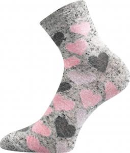 Detské ponožky Boma Ivanka srdce