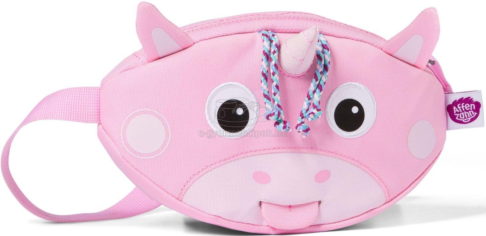 Gyerek övtáska Affenzahn Hipbag Unicorn - rózsaszín