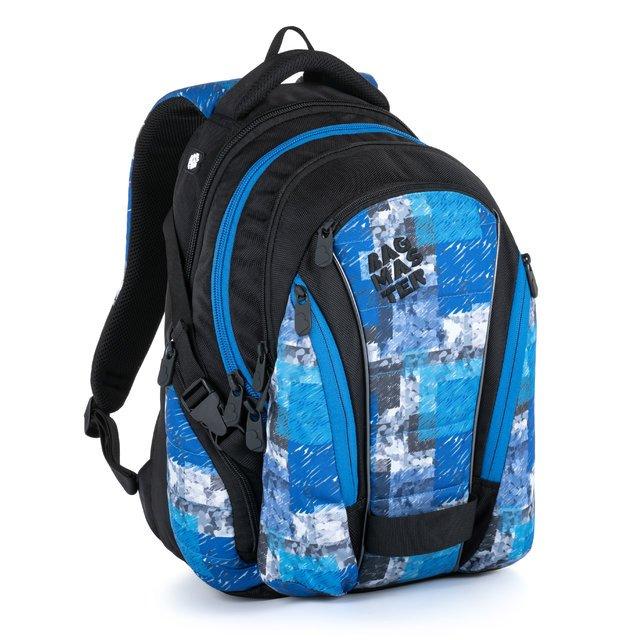 BAGMASTER BAG 21 A BLUE/BLACK