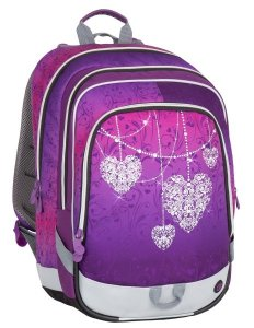 Školní batoh Bagmaster ALFA 7 A VIOLET/PINK