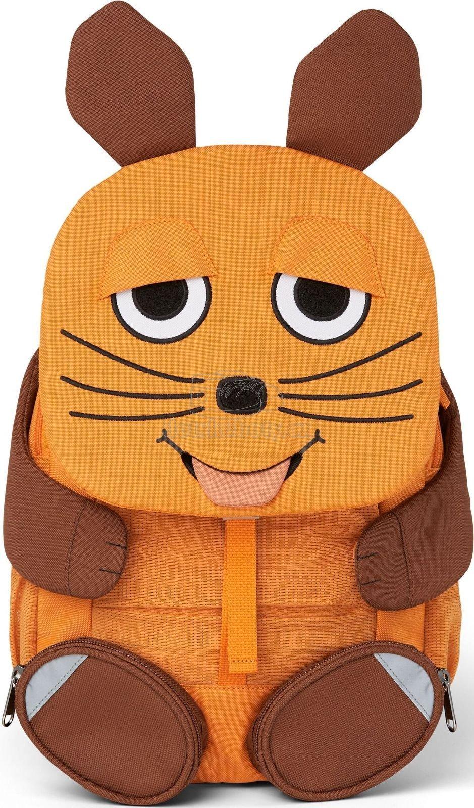 Dětský batoh do školky Affenzahn Mouse large - orange
