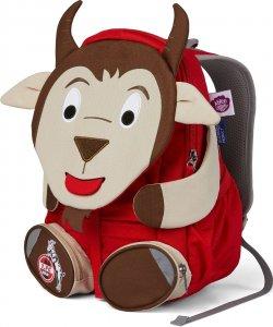 Gyerek hátizsák óvodába Affenzahn Hennes Goat large - red