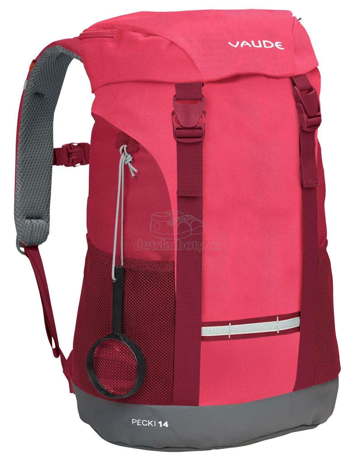 Vaude Pecki 14 bright pink