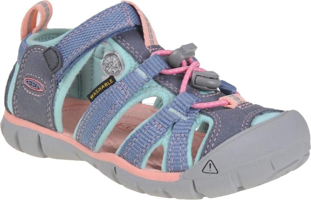Detské sandále Keen Seacamp II CNX Children flint stone/ocean wave