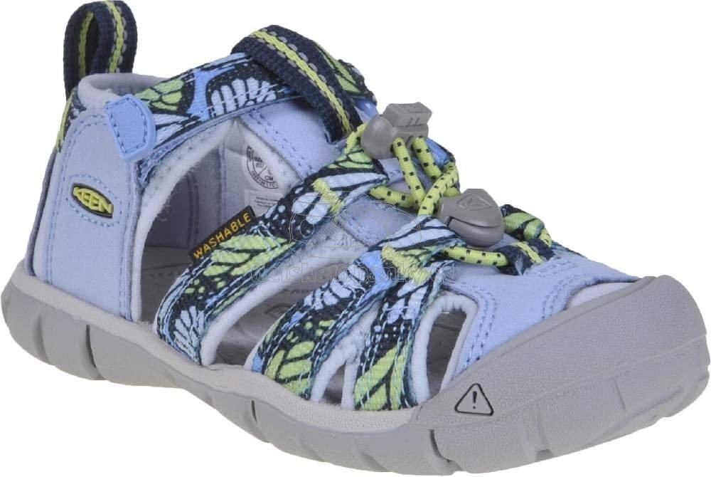 Detské sandále Keen Seacamp II CNX Children hydrangea/sharp green