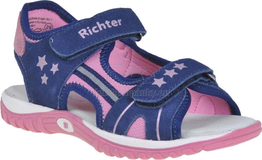 Domáca obuv Richter 5101-1171-6821