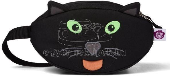 Gyerek övtáska Affenzahn Hipbag Black Panther - fekete
