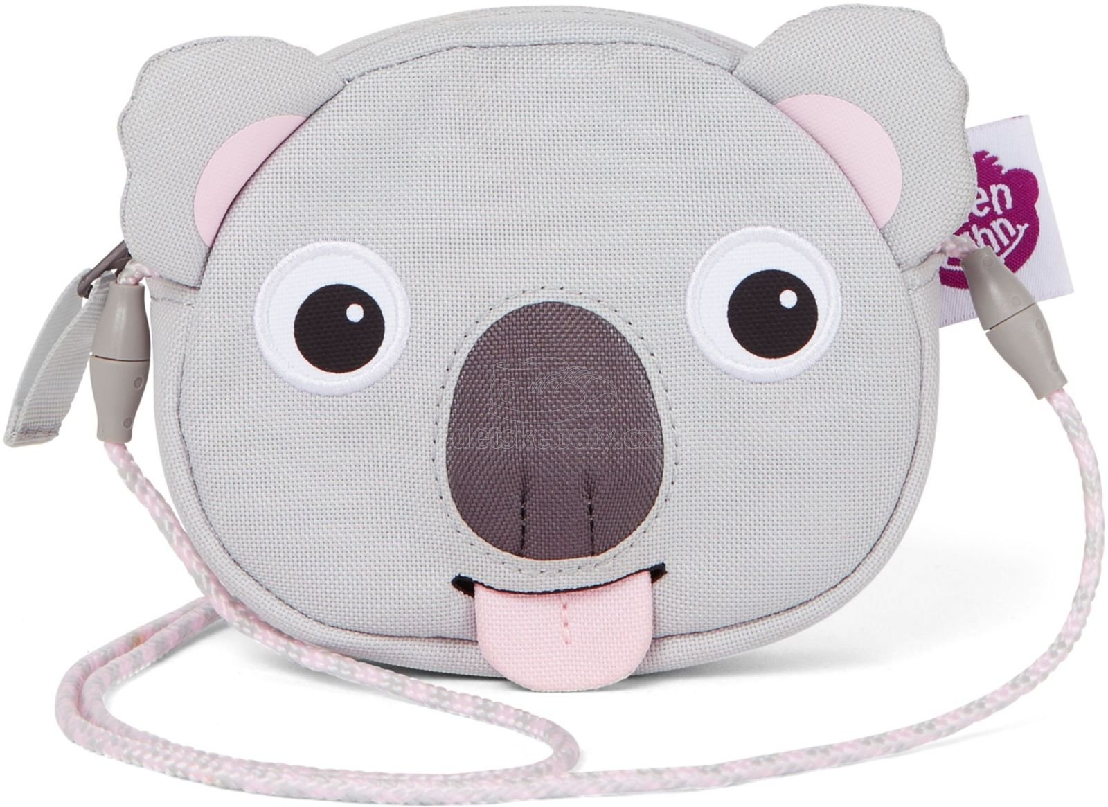 Dětská kabelka Affenzahn Wallet - Koala Karla - grey