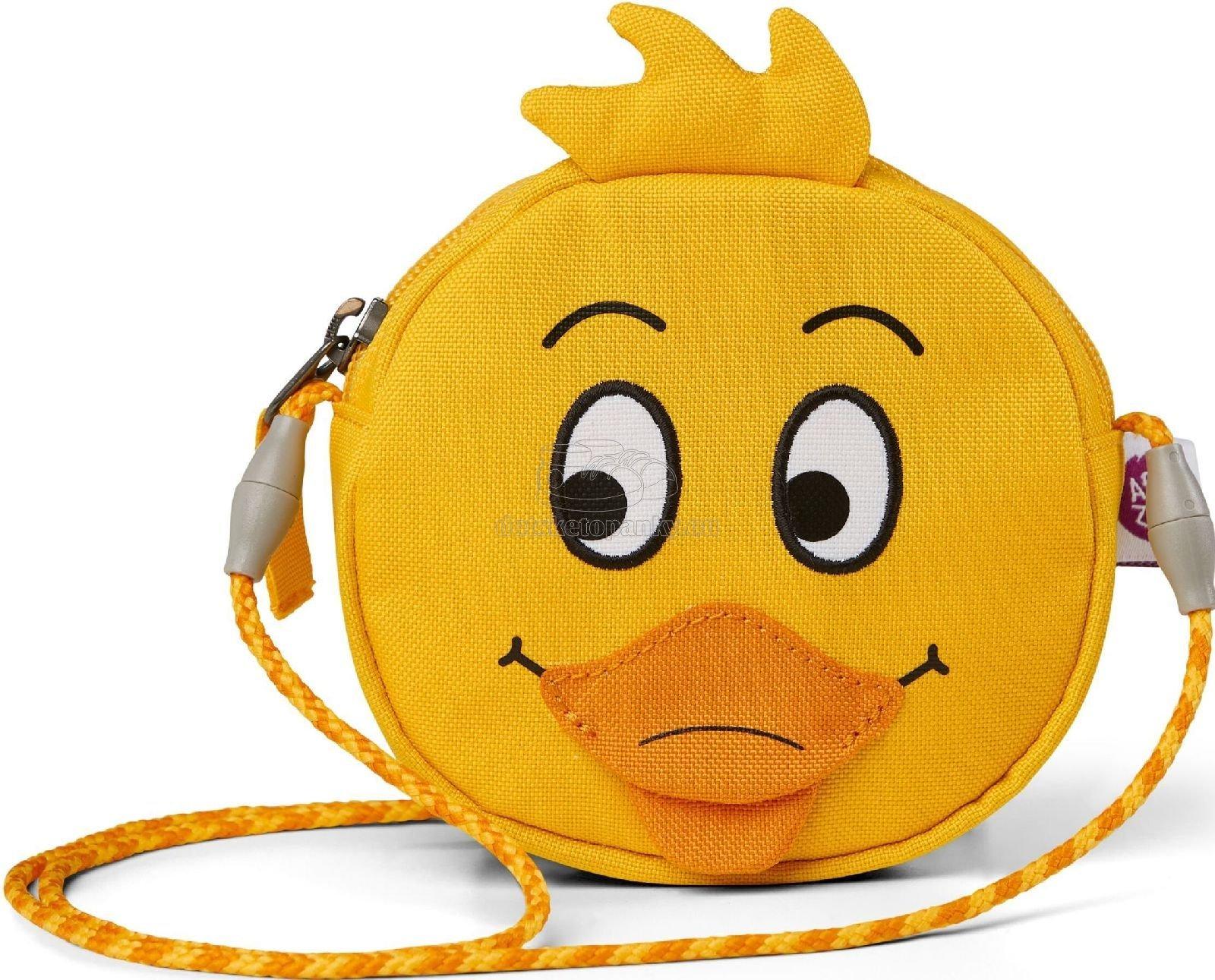 Detská kabelka Affenzahn Kids Wallet Duck - yellow