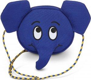 Detská kabelka Affenzahn Kids Wallet Emil Elephant - blue