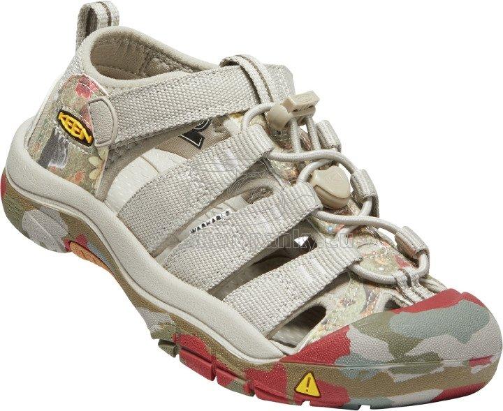 Detské sandále Keen Newport H2 Youth new aco camo
