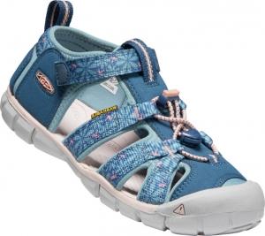Detské sandále Keen Seacamp II CNX Youth real teal/stone blue