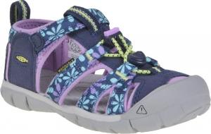 Detské sandále Keen Seacamp II CNX Children black iris/african violet