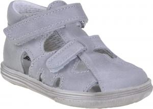 Detské letné topánky Boots4u T018 V šedá