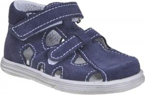 Detské letné topánky Boots4u T018 SV oceán