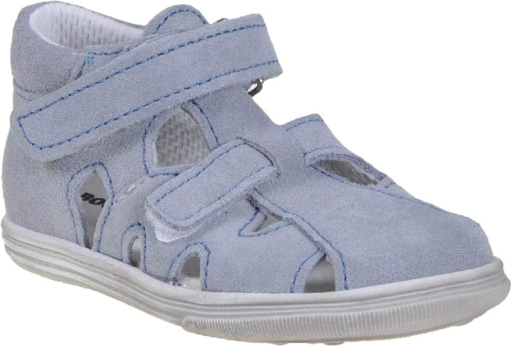 Detské letné topánky Boots4u T018 SV šedá
