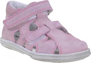 Detské letné topánky Boots4u T018 SV sv.rose