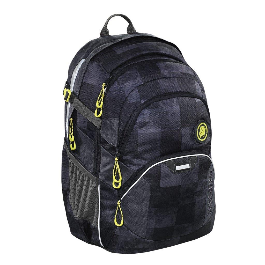 Školský ruksak Coocazoo JobJobber2, Mamor Check+ BONUS ŠPORTOVÝ VAK za 0,05 EUR