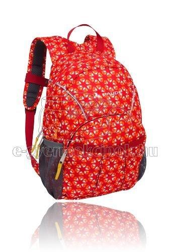 Gyerek hátizsák  Vaude Minnie 10 red/mandarine print