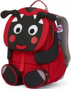 Detský batoh do škôlky Affenzahn Large Friend Ladybird - red